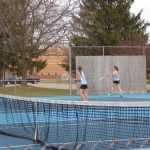 Varsity Tennis Earns Tie with Portland