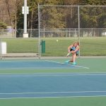 Girls Varsity Tennis Dominates East Lansing