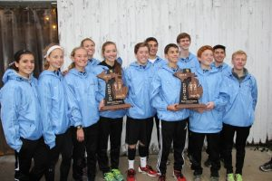 2015 XC – Cougar Boys and Girls Varsity Sweep Regional Championships – St Johns