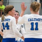 Varsity Volleyball Shuts Out Gremlins, 3-0