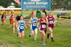 Varsity Girls Cross Country at Jeffers, 8/26/2014