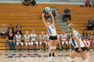 CHS JV Volleyball vs West Iron, 9/2/2014