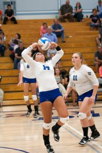 CHS Varsity Volleyball vs West Iron, 9/2/2014