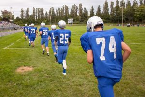 Varsity Football vs Negaunee, 9/5/2014