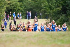 Varsity Cross Country at Dollar Bay Invite in Chassell, 9/18/2014