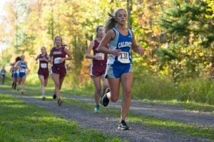 Varsity Cross Country at MTU Trails, 9/22/2014