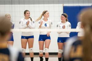 CHS Varsity volleyball vs Lake Linden-Hubbell, 10/23/2014
