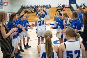 Girls varsity basketball vs Jeffers, 12/19/2014
