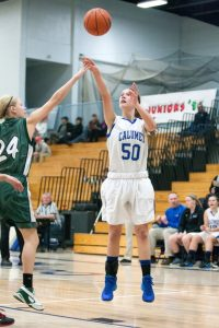 CHS JV girls basketball vs Jeffers, 12/19/2014
