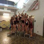 Girls Swimming Big 8 Champions!