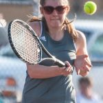 Mount Vernon High School (Mt. Vernon) Girls Varsity Tennis beat Bosse High School 4-1