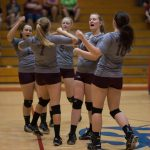 Mount Vernon High School (Mt. Vernon) Girls Varsity Volleyball beat Central 3-0