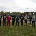 Mount Vernon High School (Mt. Vernon) Boys Varsity Cross Country finishes 3rd place