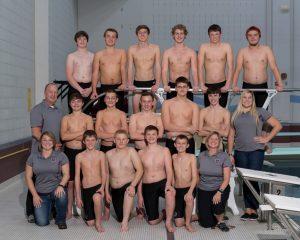 Boys Swimming & Diving 2015-2016