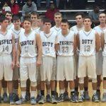 Mount Vernon High School (Mt. Vernon) Boys Varsity Basketball falls to Ev. Harrison 60-72