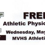 FREE ATHLETIC PHYSICAL NIGHT 5/18!