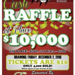 2nd Annual Athletic Raffle Tickets Now on Sale!