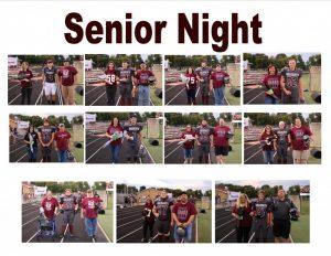 2017 Football Senior Night