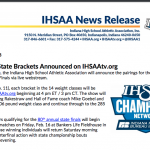 IHSAA Will Announce State Pairings on 2/11!
