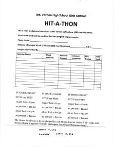 Hit a thon pledge form fill online, printable, fillable, blank.