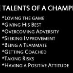 So what makes up the strong foundation for an athlete?