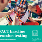 Free Baseline Concussion testing on Tuesday, February 26th (St. Vincent Sports Concussion Alliance)