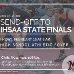 State Finals send off for Chris Newman