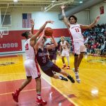 Boys Varsity Basketball falls to Bosse 71 – 43