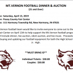 Reminder:  1st Annual Dinner & Auction to support MV Football!