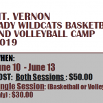 Announcing the MVHS Summer Girls' Basketball and Volleyball Camps!