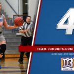 Nall Named D3Hoops.com 4th Team All-American!