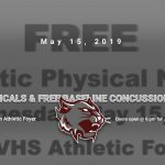 Free Physical Night & Free Baseline Concussion Testing!