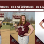 3 Lady Wildcats Earn All-Big 8 Conference Softball Honors!