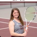 Woods Named All-Conference for Tennis!