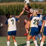 Girls Varsity Soccer beats Evansville Christian School