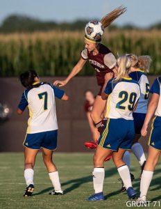 Mt. Vernon Girls Soccer win over Evansville Christian!