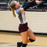 Girls Varsity Volleyball falls to Castle 3 – 0