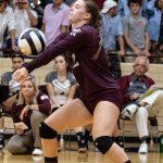 Girls Varsity Volleyball beats Princeton 3 – 1
