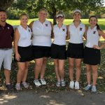 Girls Varsity Golf finishes 7th place at IHSAA Sectional