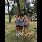 Girls Cross Country Places 6th at Pike Central Invite