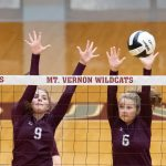 Girls Varsity Volleyball defeats Gibson Southern 3 – 0