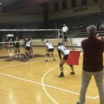 Girls Junior Varsity Volleyball beats Washington 2 – 0