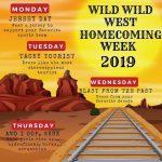 Wild Wild West Homecoming Week 2019!