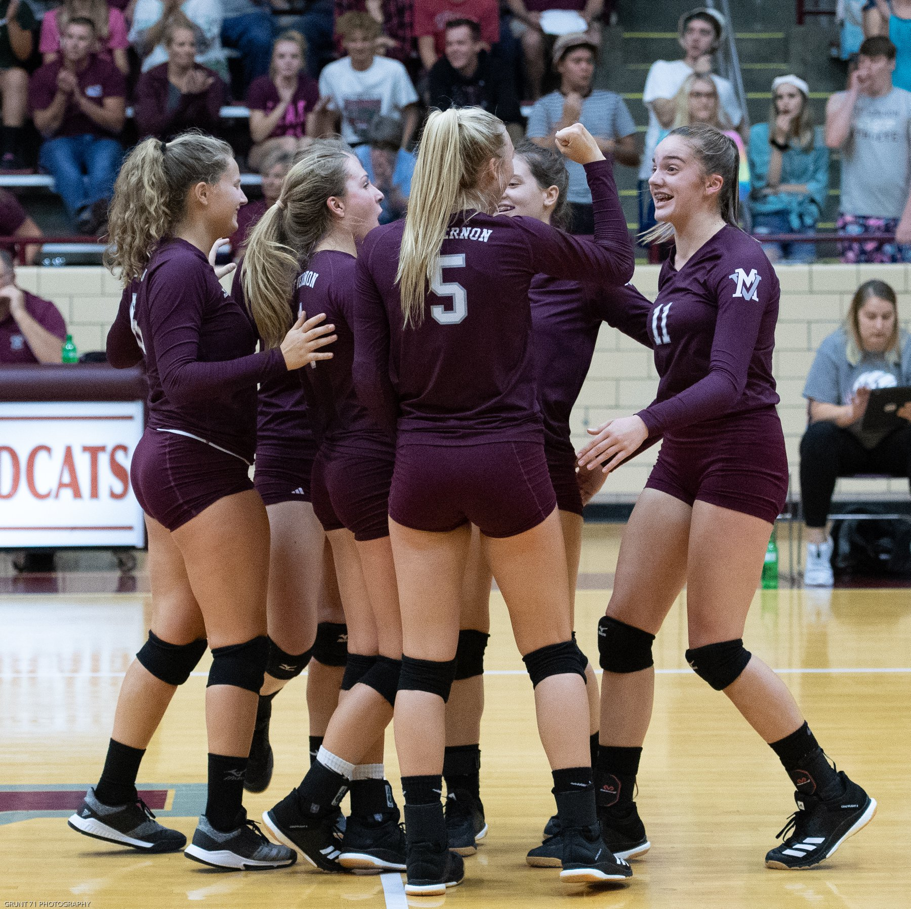 Lady Wildcats go 2-2 at Lawrence North Invite, Brooke Jackson achieves 1,000 career kills