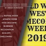 HOMECOMING FESTIVAL MOVED INDOORS!