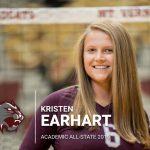 Kristen Earhart Earns Academic All-state