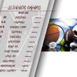 SAVE THE DATE(S) – MVHS ATHLETIC CAMP SCHEDULE!