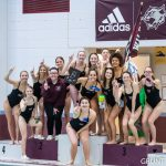 Girls Varsity Swimming finishes 1st place at Big 8 Swim Championships