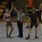 Wrestling sends 9 to regionals, finishes runner-up as a team
