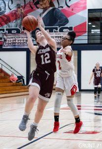 Girls Varsity Basketball Sectionals vs Bosse